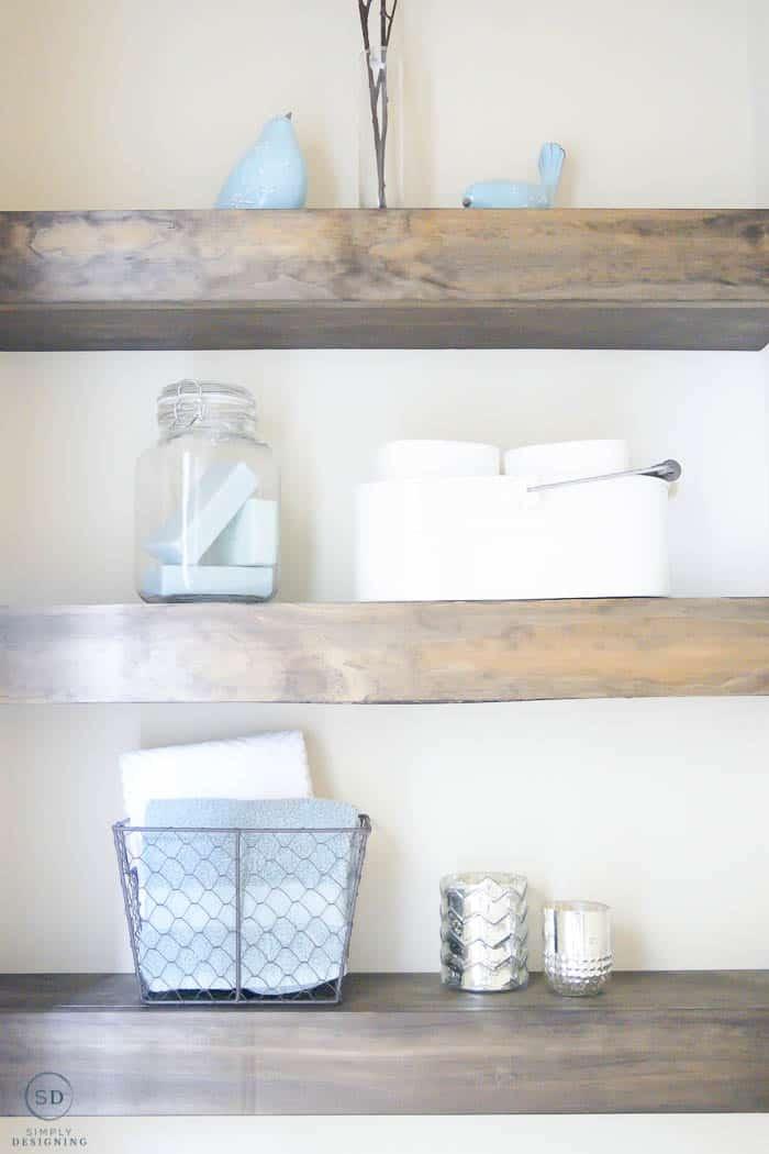 floating shelves diy
