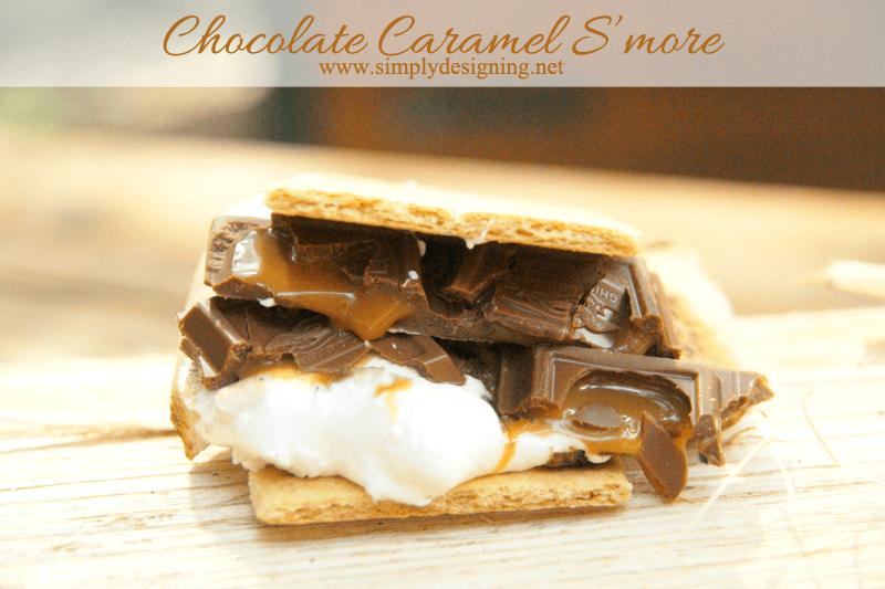 Chocolate Caramel S'mores
