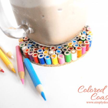 Colored Pencil Coaster