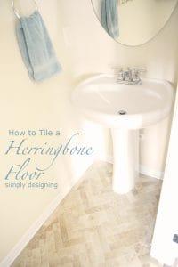 How+to+Tile+a+Herringbone+Floor1 Top Posts of 2014 1 Top Posts of 2014