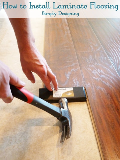 How To Install Floating Laminate Wood, Tools Needed To Install Floating Laminate Flooring