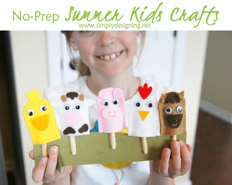 No+Prep+Summer+Kids+Crafts+DSC042511 20 Creative Things to do with Popsicle Sticks 1 Creative Things to do with Popsicle Sticks