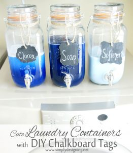 cute+laundry+container+with+diy+chalkboard+tags Top Posts of 2014 3 Top Posts of 2014