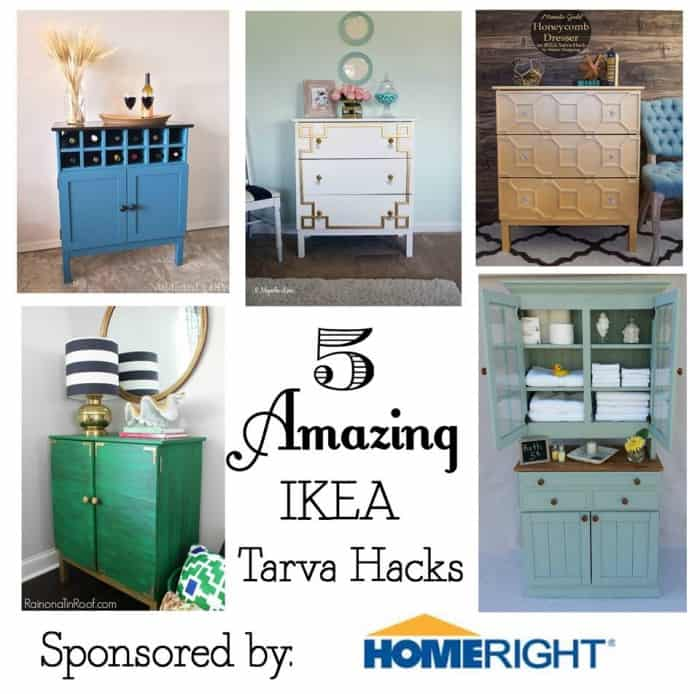 Ikea Hack Dresser Challenge -You won't believe this IKEA Hack! This beautiful art deco inspired metallic gold honeycomb dresser is an amazing transformation using an IKEA Tarva dresser and it's so easy to do.