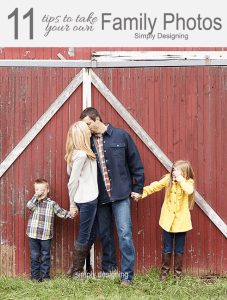 11 Tips to Take Your Own Family Photo