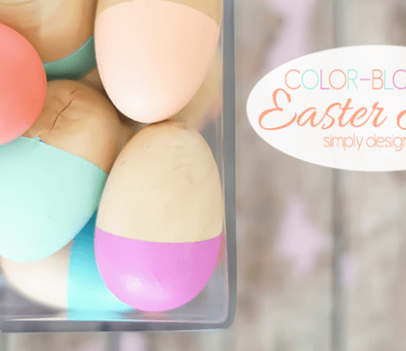 Color-Blocked Easter Eggs Featured Image