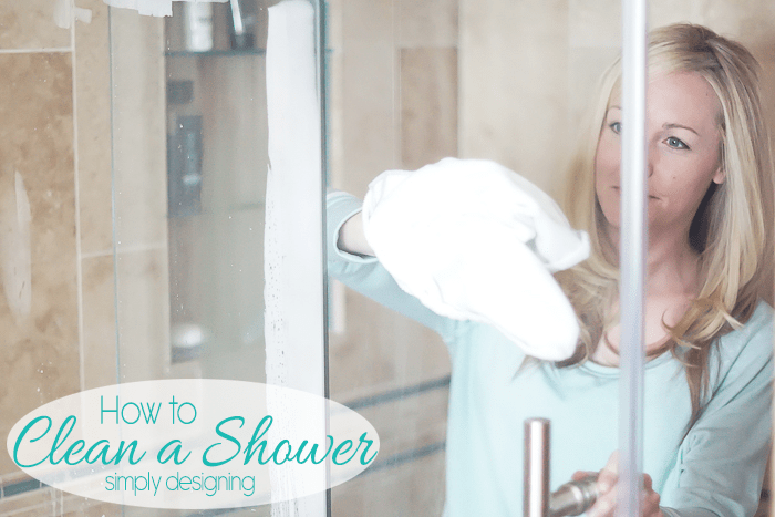 How to Clean a Shower Easily