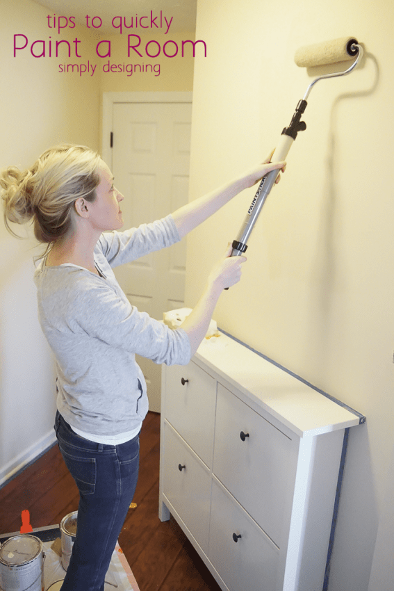 Quickly Paint A Room In Your Home Here S How To Fast