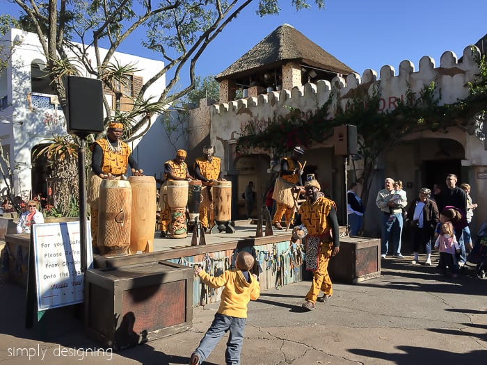 Musical Performers in Animal Kingdom Africa