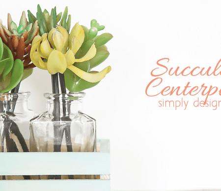 Succulent Centerpiece Featured Image
