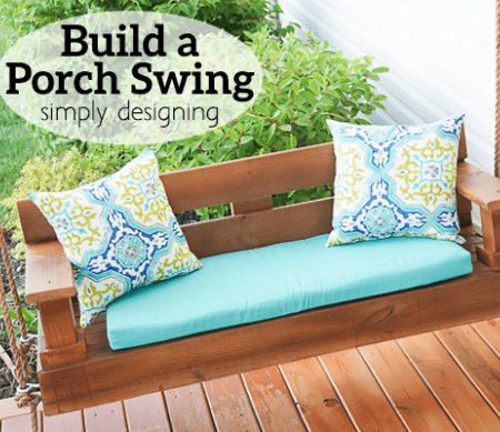 How to Build a Porch Swing Featured Image