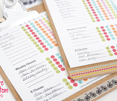 Kids Chore Chart Free Printables Features Image