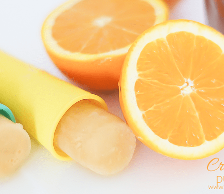 Orange Creamsicle Popsicle Push Pops - featured image