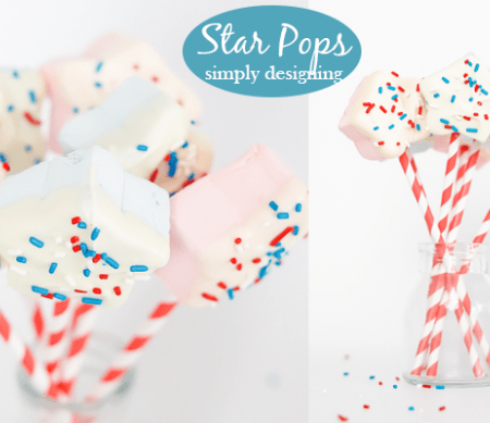Star Marshmallow Pops featured image