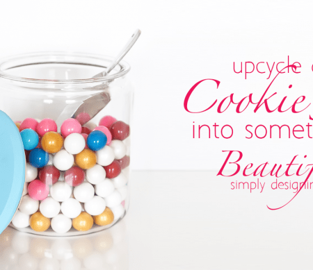 upcycle a 3 dollar cookie jar into something spectacular