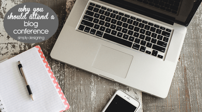 Why you should attend a blog conference