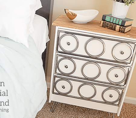 Modern Industrial Nightstand with Hairpin Legs - featured image