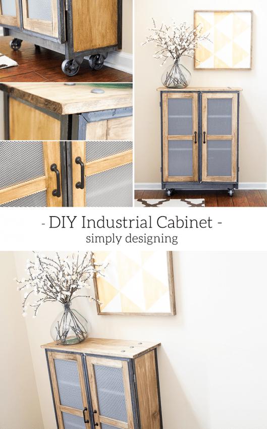 DIY Industrial Cabinet