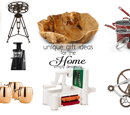 Unique Gift Ideas for your Home