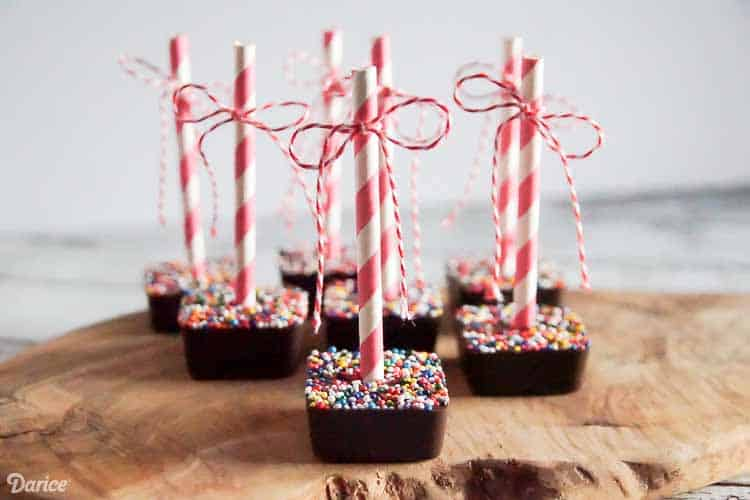 hot cocoa on a stick