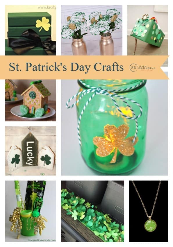 St. Patrick's Day Crafts Round Up Final Pinnable