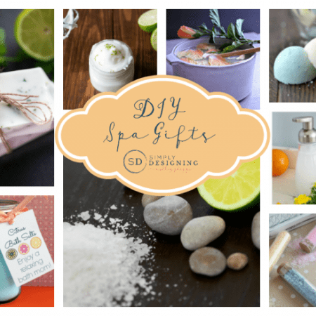 DIY Spa Gifts Round Up
