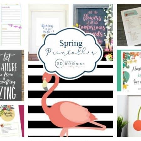 Spring Printables / Simple Designing