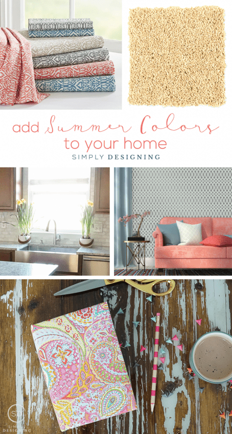 Adding Summer Color to your Home