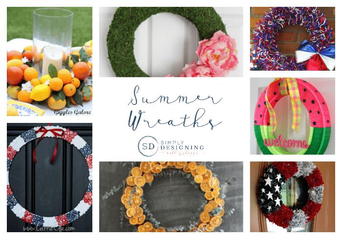 Summer Wreaths | SimplyDesigning.net