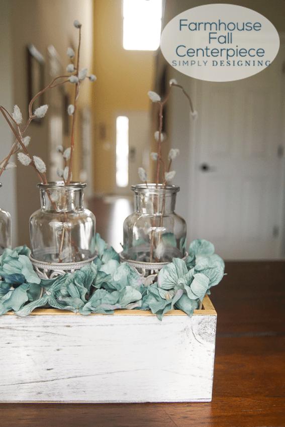 Easy DIY Farmhouse Fall Centerpiece