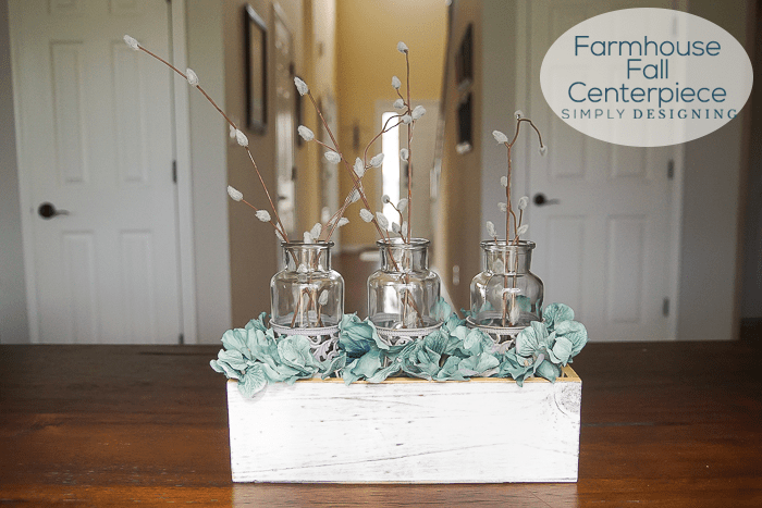 Farmhouse Fall Centerpiece