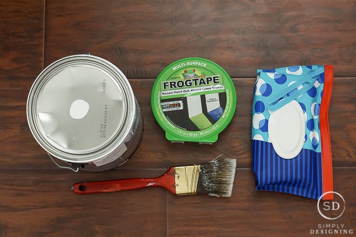 Painting can be fun or frustrating but I'm going to show you how to paint trim so you will love it as much as I do with these 5 simple steps.