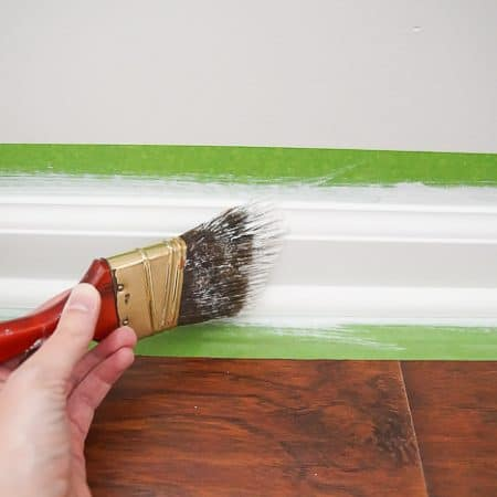 how to paint trim flawlessly