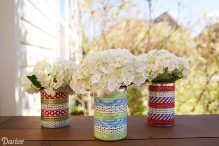 tin can washi tape craft