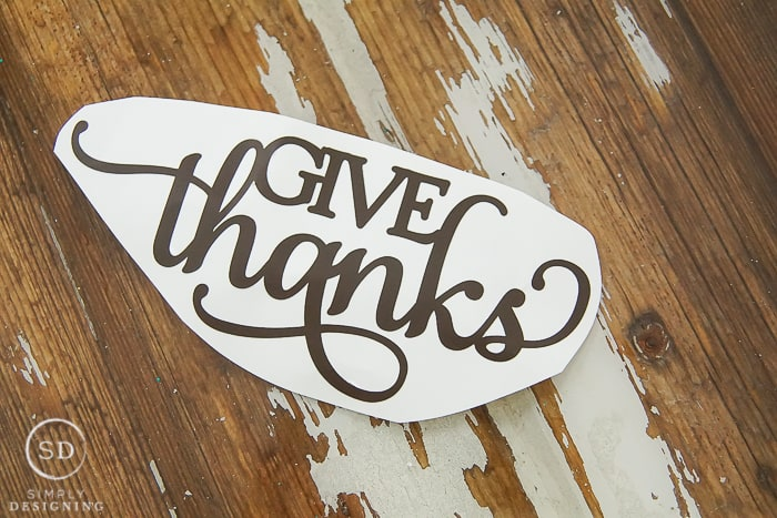 give thanks vinyl