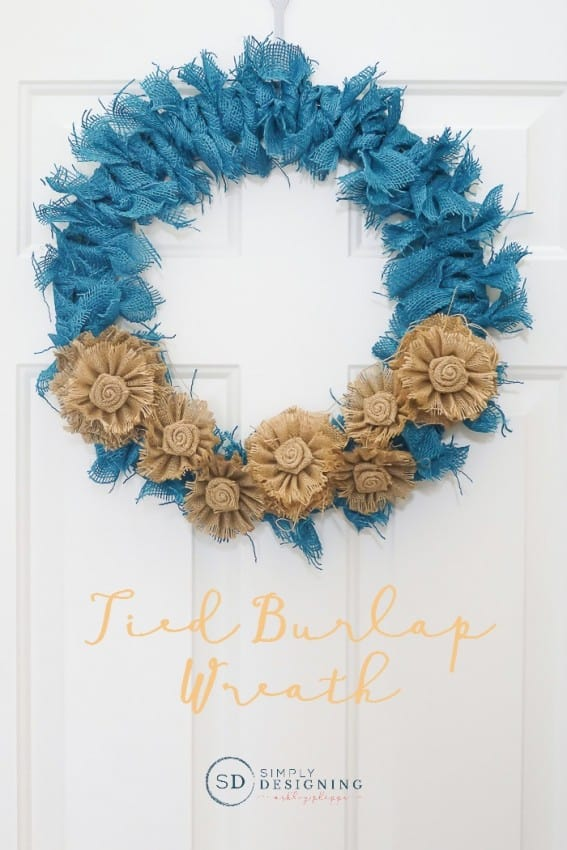 tied-burlap-wreath