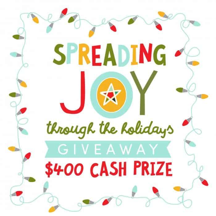 Spreading Joy Giveaway