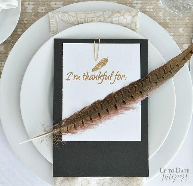 thanksgiving table card watermark Thanksgiving Crafts, DIYs and Printables 1 Thanksgiving Crafts