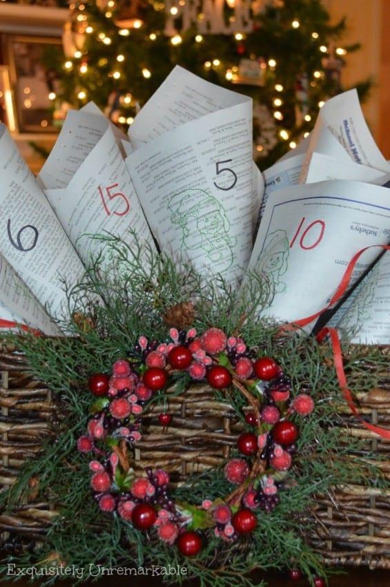 cone-newspaper-advent-calendar