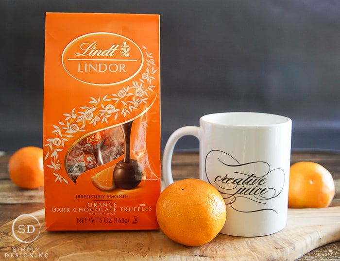 chocolate orange hot chocolate