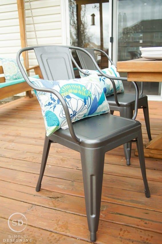 Farmhouse Industrial Chairs