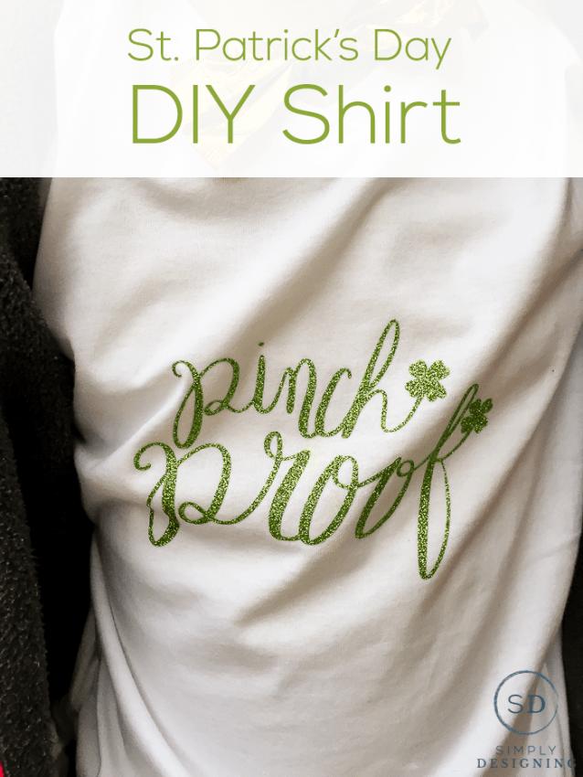 Pinch Proof Hand Lettered Design DIY Shirt