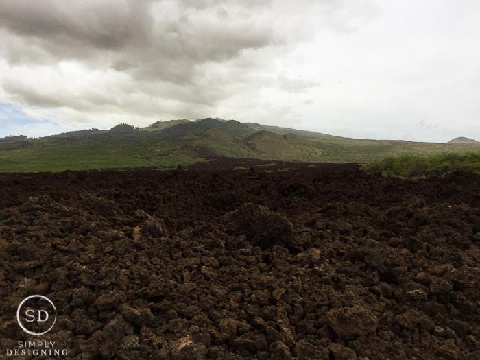 Maui Hawaii - La Perouse - the last lava flow on Maui