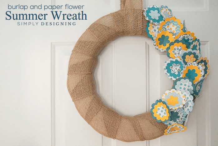 Flower Summer Wreath