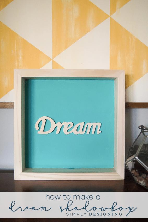 How to make a Dream Shadowbox Decor