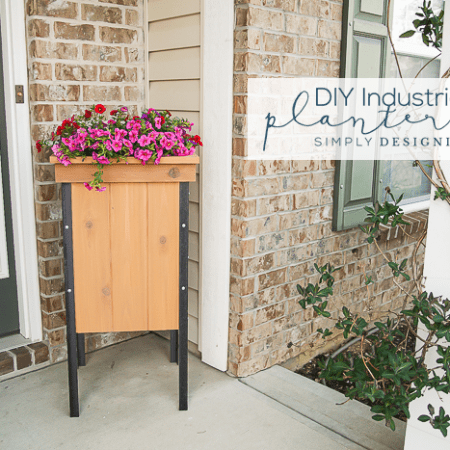 How to Make Industrial Planter Boxes
