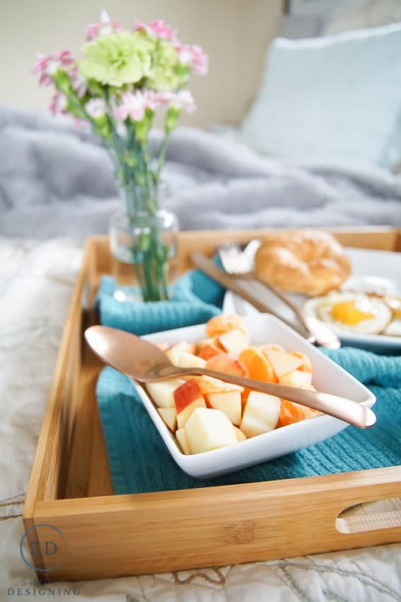 Fruit is the perfect addition to a Mother's Day Breakfast in Bed