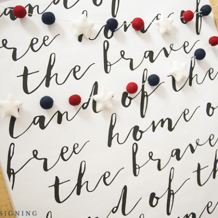 Land of the Free Home of the Brave FREE Print