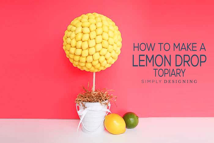 lemon drop topiary