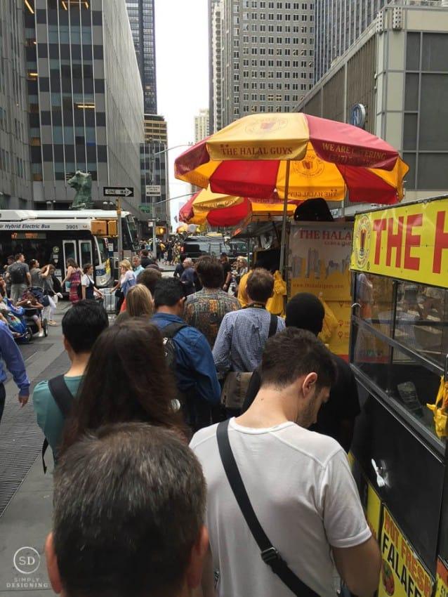 Halal Food Guys Truck NYC